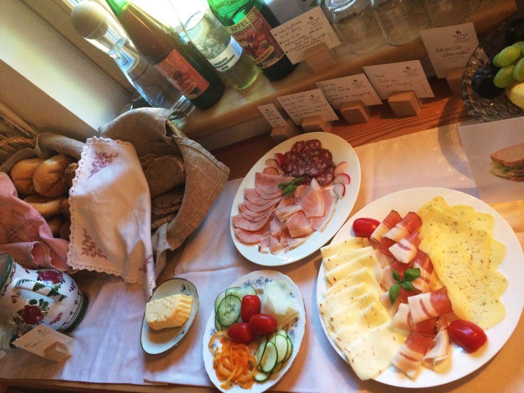 Ederhias Frühstück