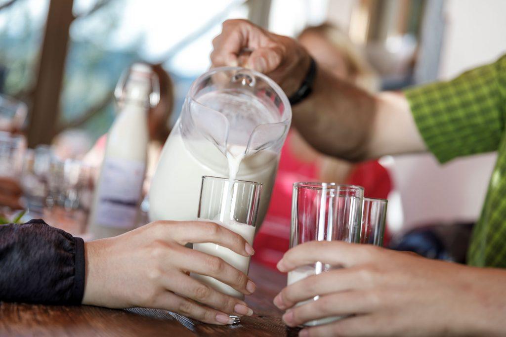 Ederhias eigene Milch